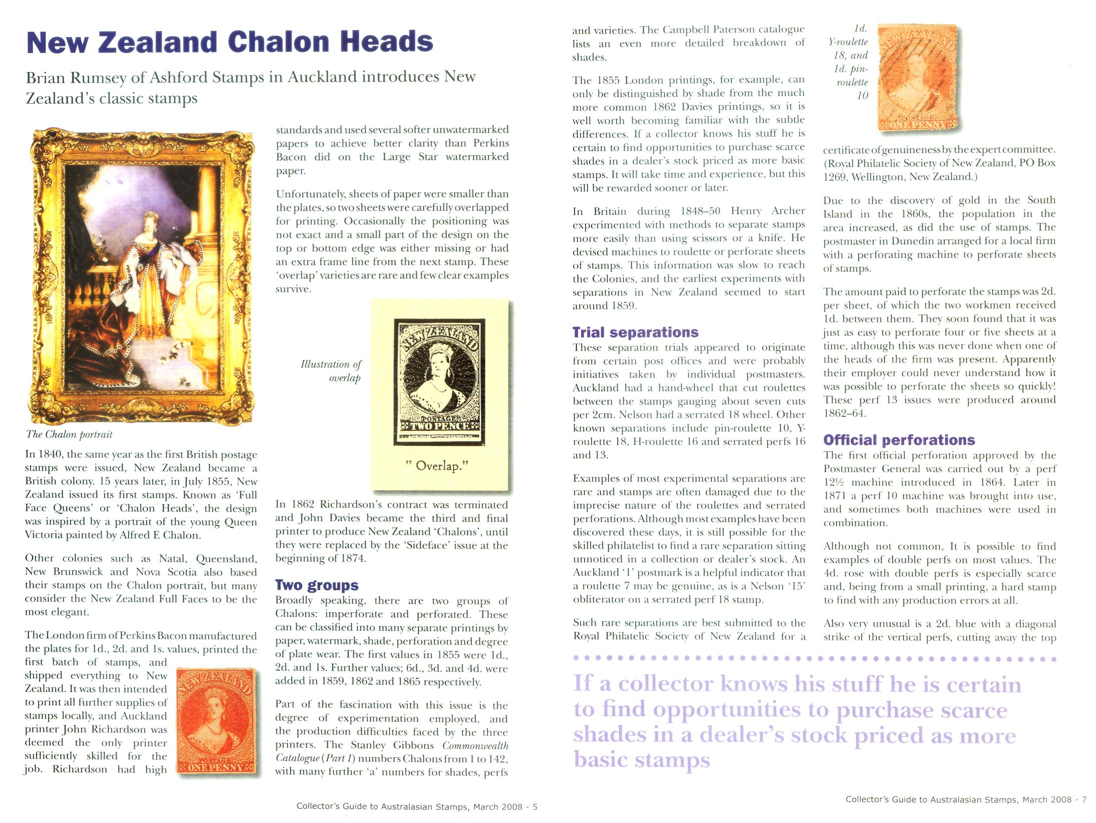 New Zealand Chalons pages 1-2