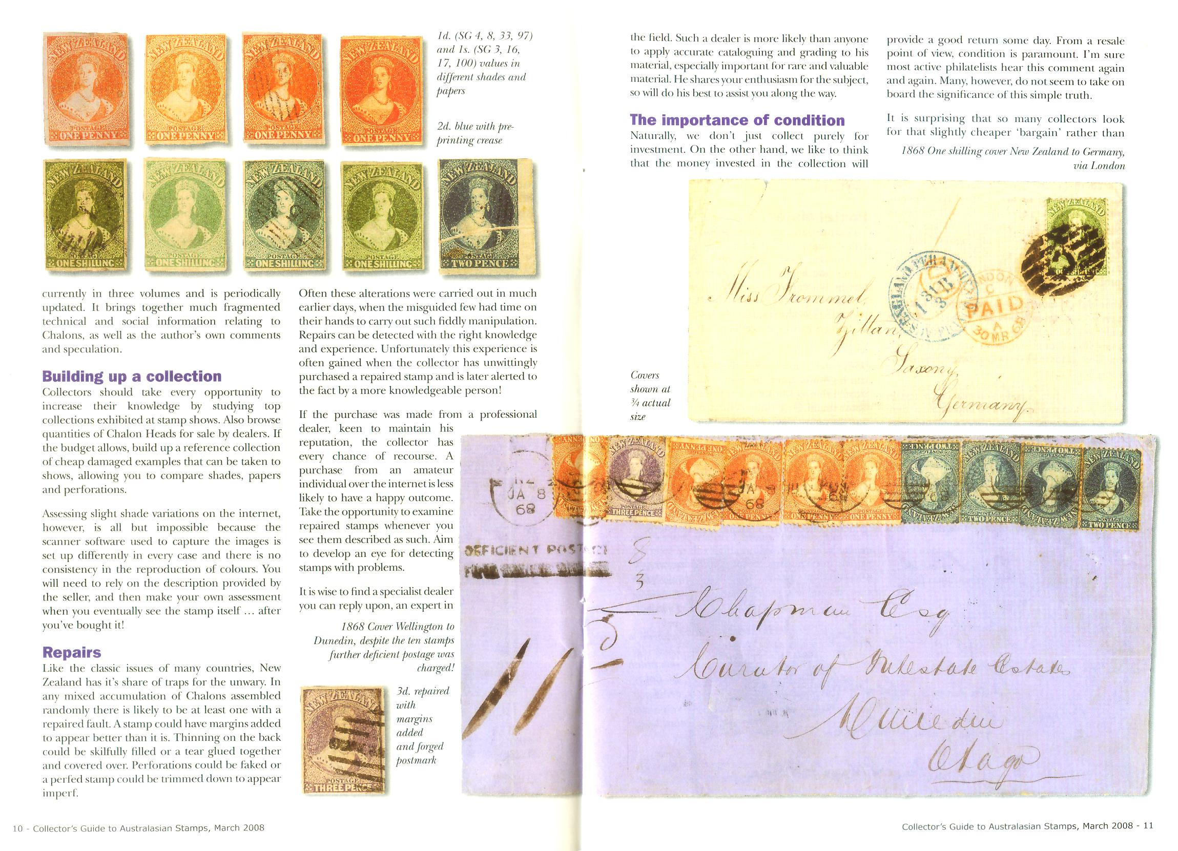 New Zealand Chalons pages 5-6